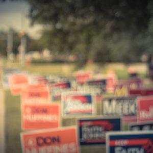 political yard sign companies